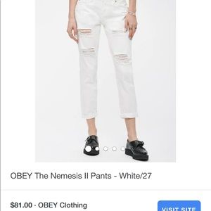 🛑 NWT! Obey jeans from Revolve!